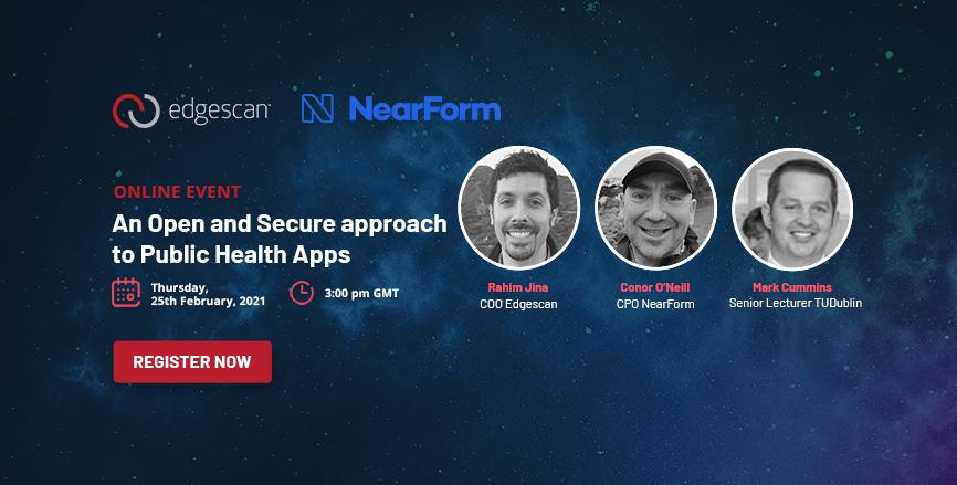 Online Webinar - NearForm button